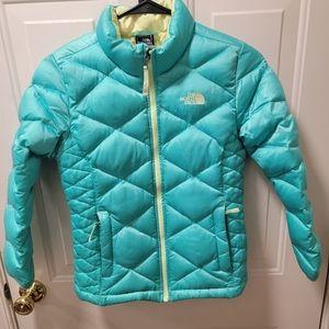 Girl's Northface 550 Goosedown Coat